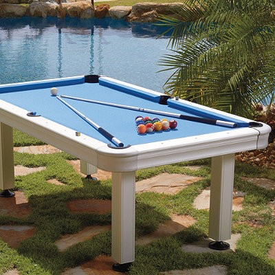 Delicieux St Croix 7u0027 Outdoor Pool Table